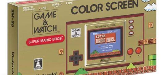 ゲーム&ウオッチ スーパーマリオブラザーズ